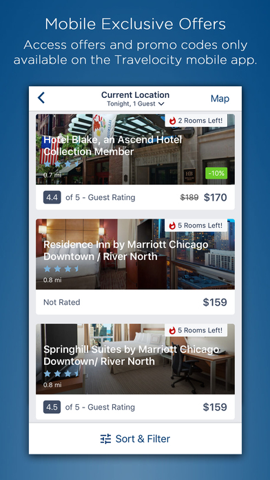 Package deals flight and hotel