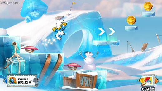 Смурфики: Легендарный забег - Веселое приключение Screenshot