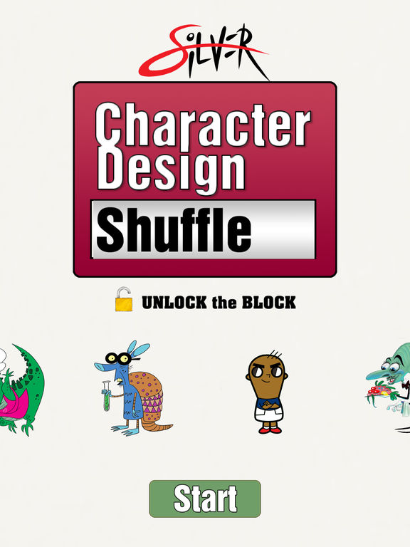 Character Design Shuffle App : App shopper character design shuffle by silver productivity
