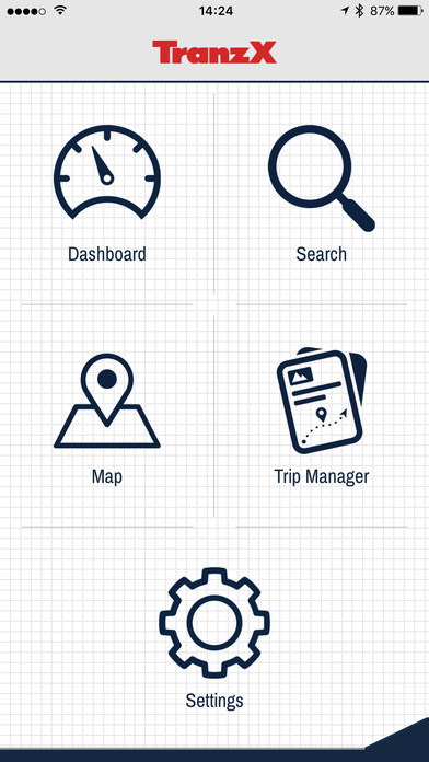TranzX eBIKE APP screenshot