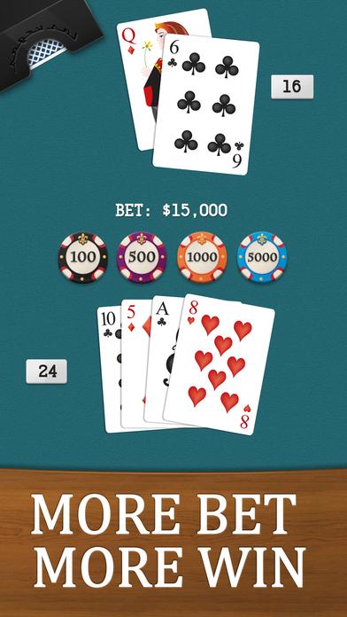 Screenshot 2 Black Jack Game — Multi Vegas Slot