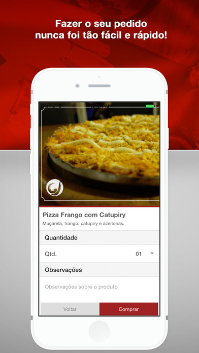 Pizzaria Giovanna - Pesqueira screenshot 2