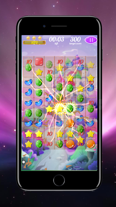 Sweet Candy Jelly Blast screenshot 1