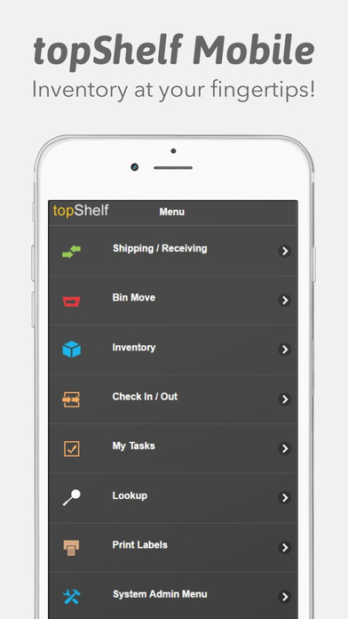 Download topShelf Mobile Inventory free | AppsHawk.com