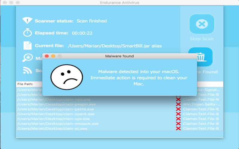 Endurance Antivirus for Mac