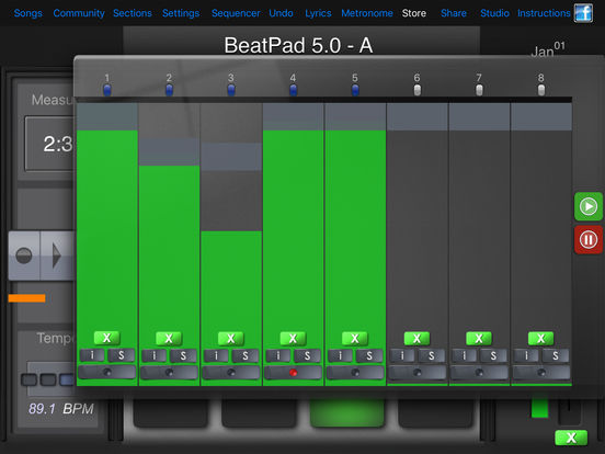 BeatPad Screenshots
