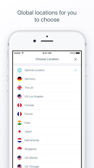 X-VPN Unlimited VPN Proxy screenshot 2