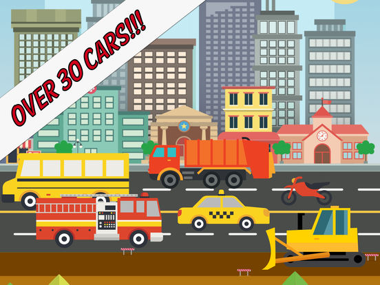 Motor City: Kids & Toddlers' Cars & Trucks Game для iPad