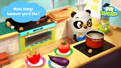 Screenshots of Dr. Panda's Restaurant 2 for iPhone