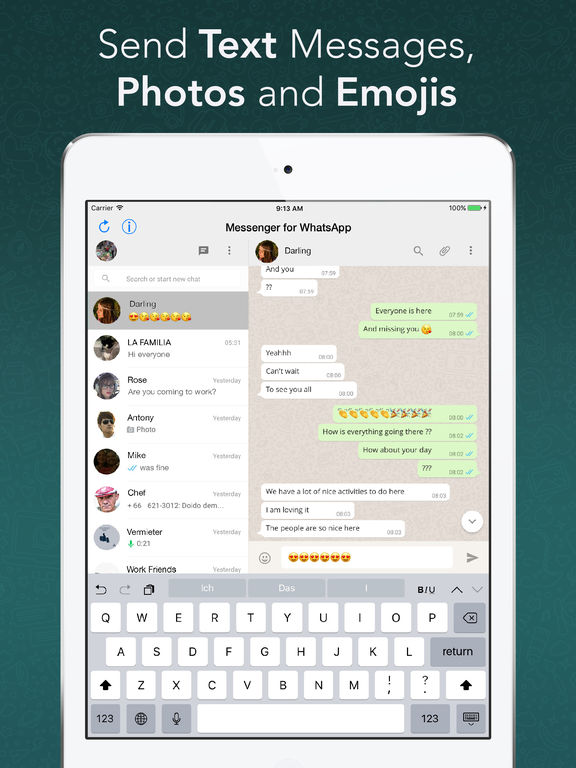 Whatsapp for ipad direct download