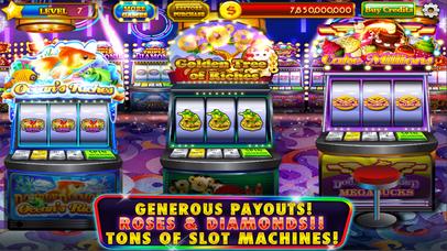 Screenshot 3 Roses & Diamonds Casino — Classic Slots Las Vegas