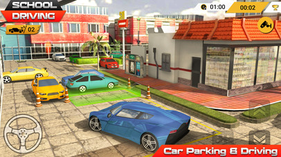 Car Parking Games Not Timed