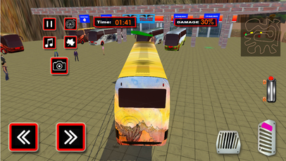 Real Traffic Bus : City Traffic Drive Simulation screenshot 1