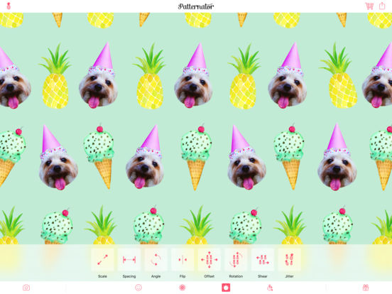 Screenshot #3 for Patternator Animated Wallpapers and Pattern Maker