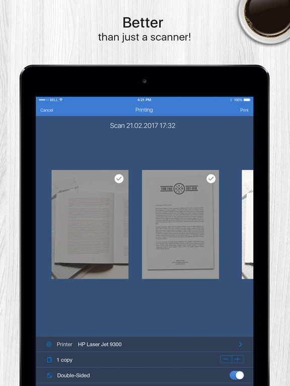 Screenshot #5 for Scanner App - Document & Receipt Scanner with Fax