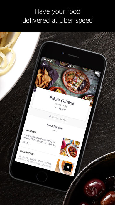 UberEATS: Uber for Food Delivery