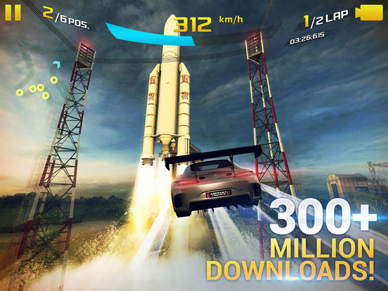Screenshots of Asphalt 8: Airborne for iPad