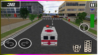 Flying Ambulance Rescue Simulator pro screenshot 1