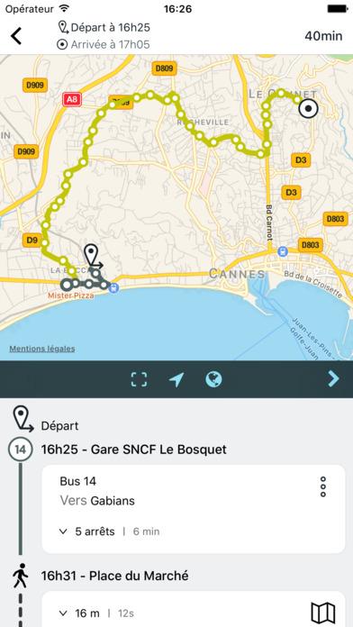 Palm Bus votre mobilité à Cannes screenshot