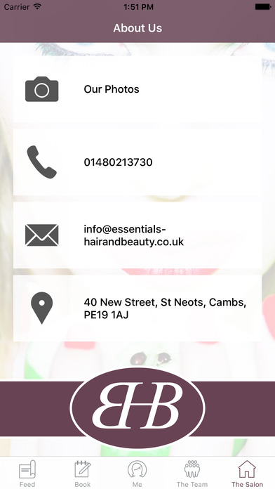 Essentials Hair And Beauty screenshot