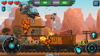 Metal Shooter screenshot 1