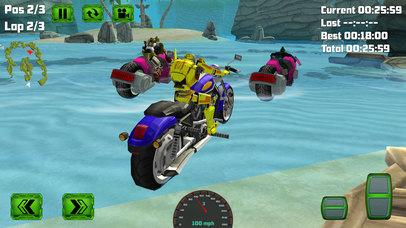 Water Surfing Bike Race screenshot 2