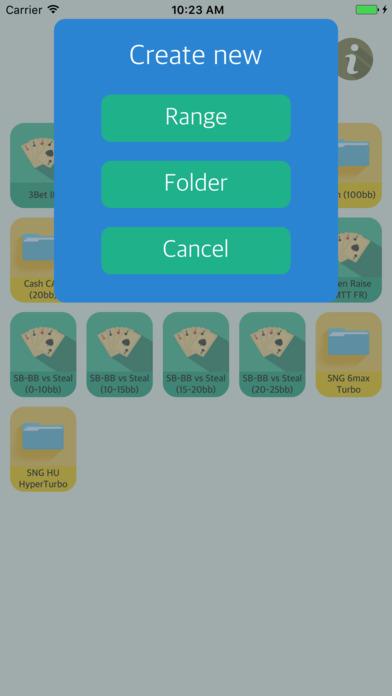 Screenshot 5 Texas Holdem Poker Range Helper LIGHT