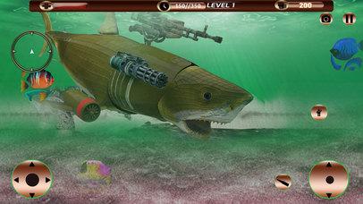 Angry Robot Shark Simulator screenshot 4
