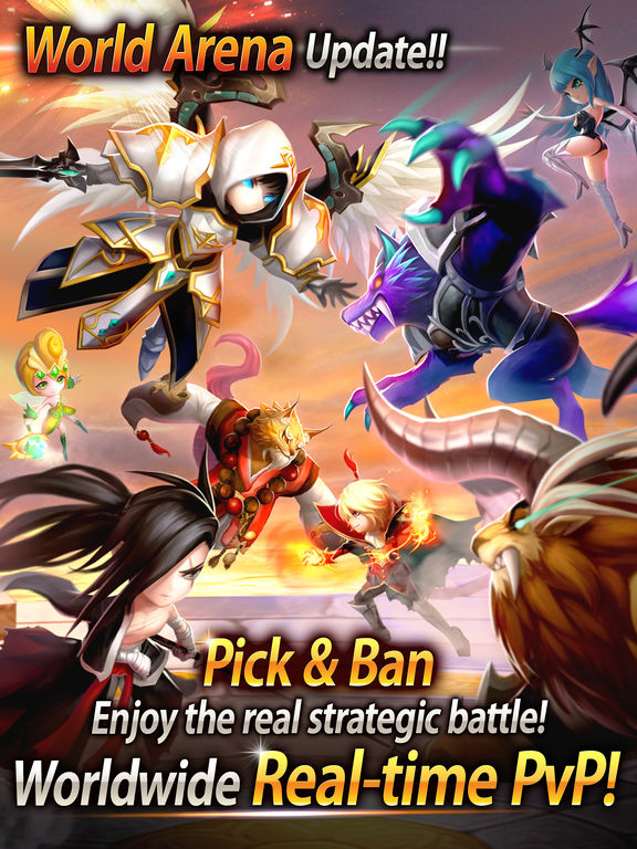 Summoners War iPad