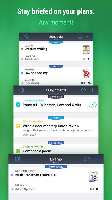 iStudiez Pro – Homework, Schedule, Grades Screenshots