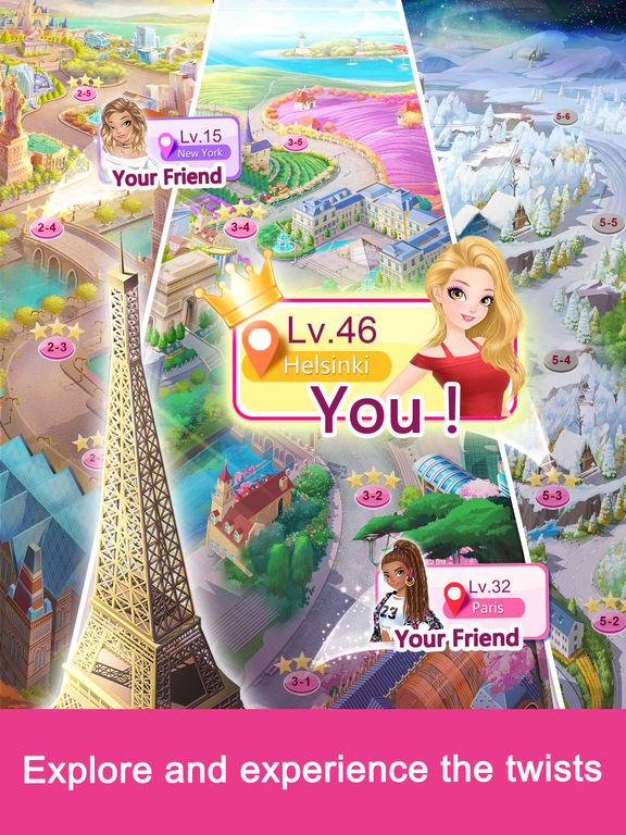 Fashion Fantasy - Dressup and Travel the Worldscreeshot 3