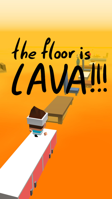 Image of The Floor Is Lava for iPhone