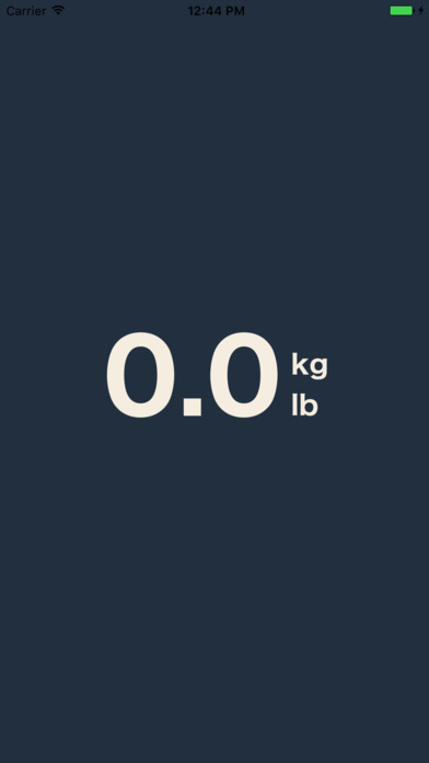 DBP Weight Scale screenshot 1