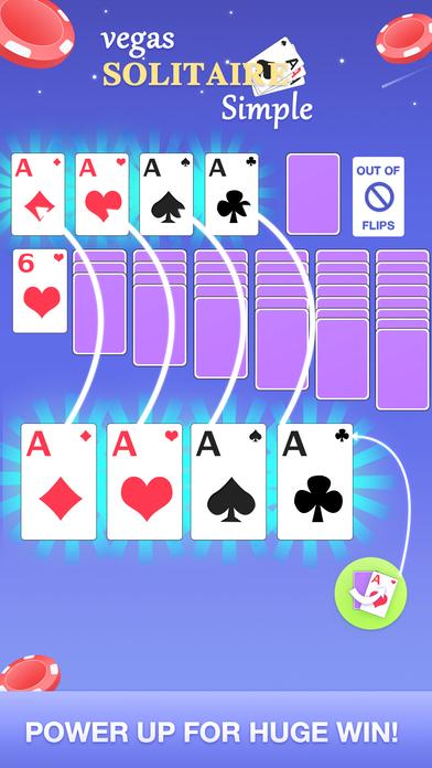 Screenshot 2 Solitaire Simple-Vegas Fun