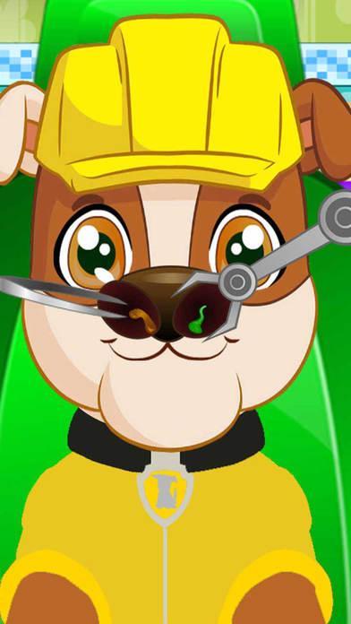 Pups Nose Doctor Kids Game screenshot 3