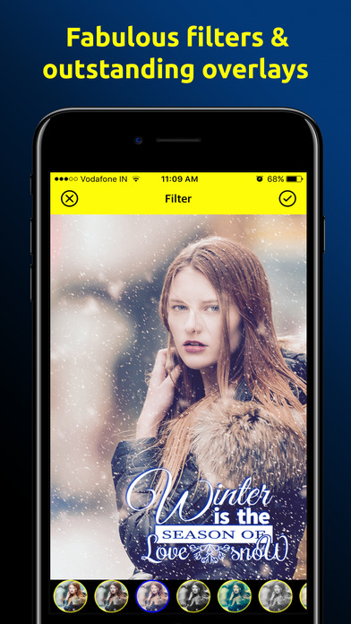 Camorify - Photo Editor, Typography & Graphics Screenshots