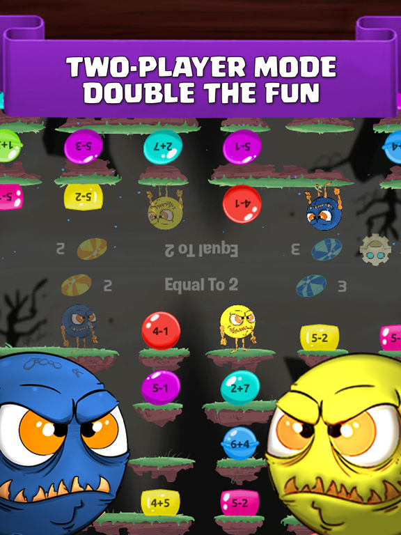 Monster Math : Grade 1, 2, 3, 4, 5 Games for kids Screenshots