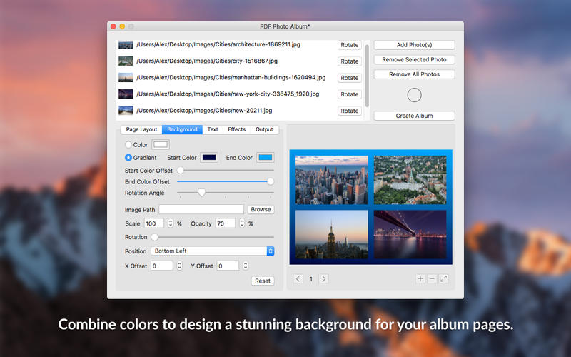 PDF Photo Album - Convert Images to PDF 앱스토어 스크린샷