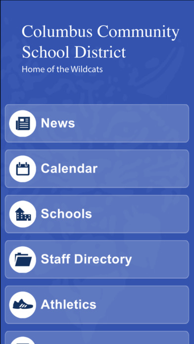 Columbus Community School District screenshot 1
