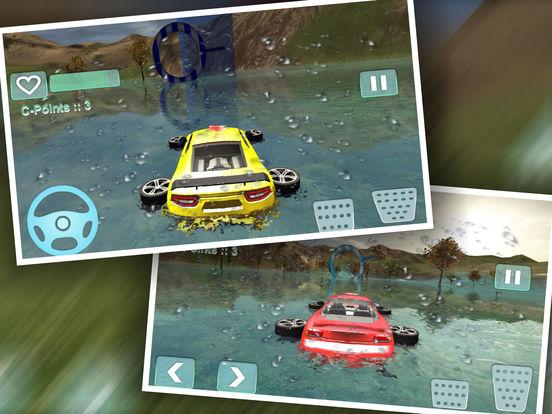 Water Car Stunt Driving Pro screenshot 6