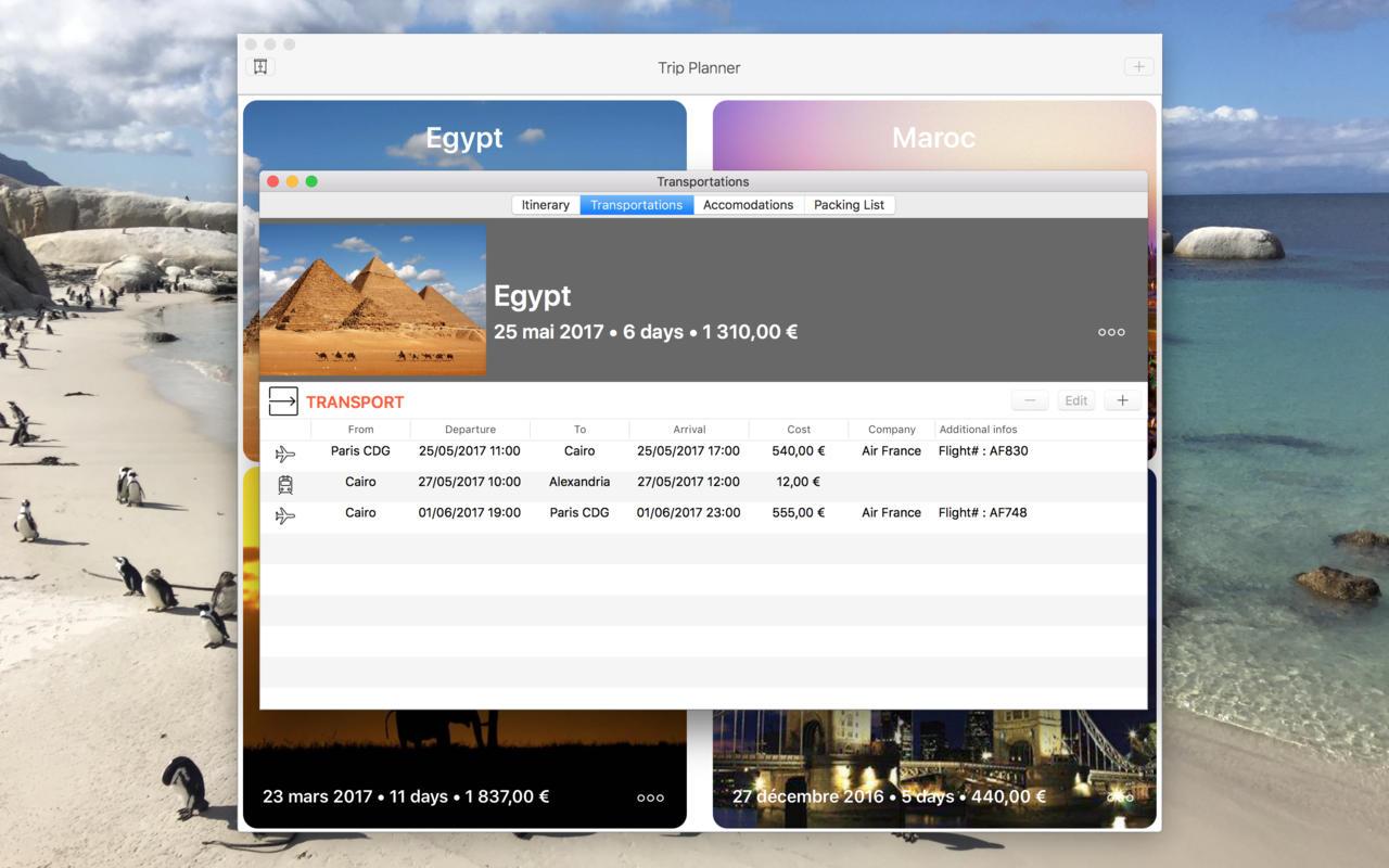 Trip Planner Travel Planning App Macgenius