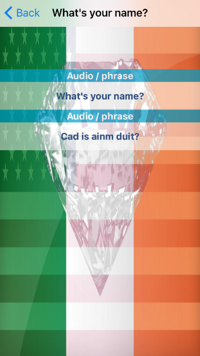 Irish Phrases Diamond 4K Edition screenshot 3