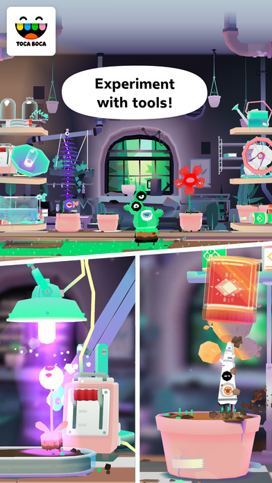 Toca Lab: Plants screenshot 3