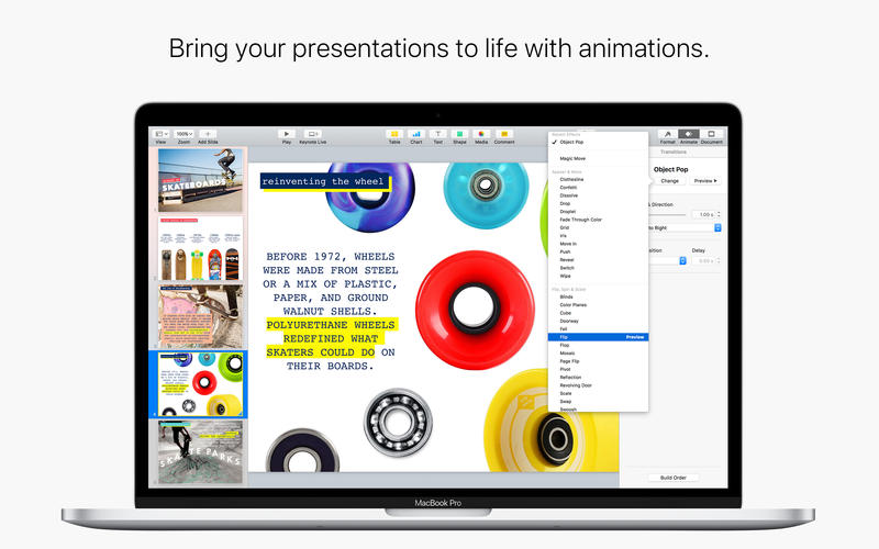 Keynote on the Mac App Store