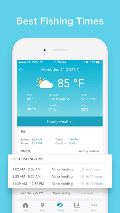 fishbox fishing forecast best spots and times app