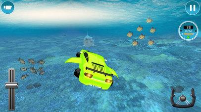 Modern Underwater Flying Car Survival 2017 screenshot 5