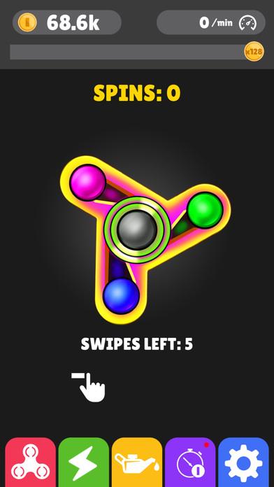 Screenshot 5 Fidget Spinner App-New Tappy Finger hand Simulator