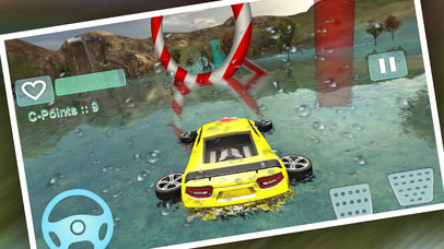 Water Car Stunt Driving Pro screenshot 4