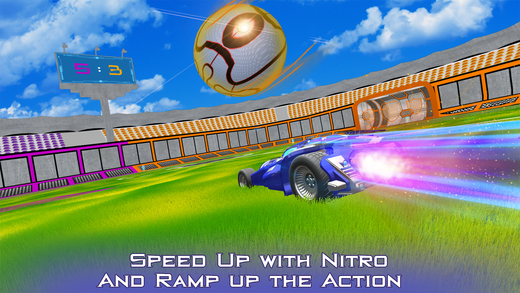 Super Rocketball:ChampionLeague Online Multiplayer Screenshot