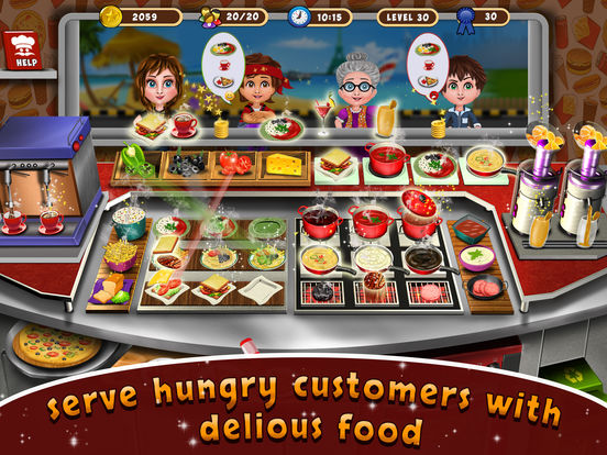 Street Food Cooking Chef Story screenshot 6